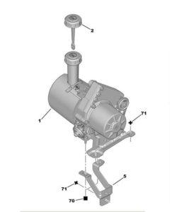 Servo pumpa Peugeot 407